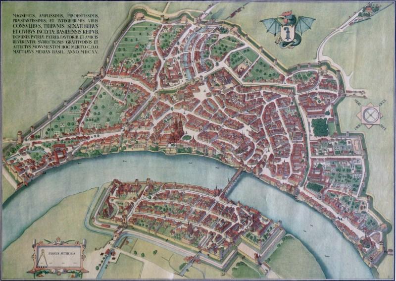 Plan Ville De Bale